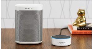 Cómo asociar altavoces Sonos y Echo y crear grupos