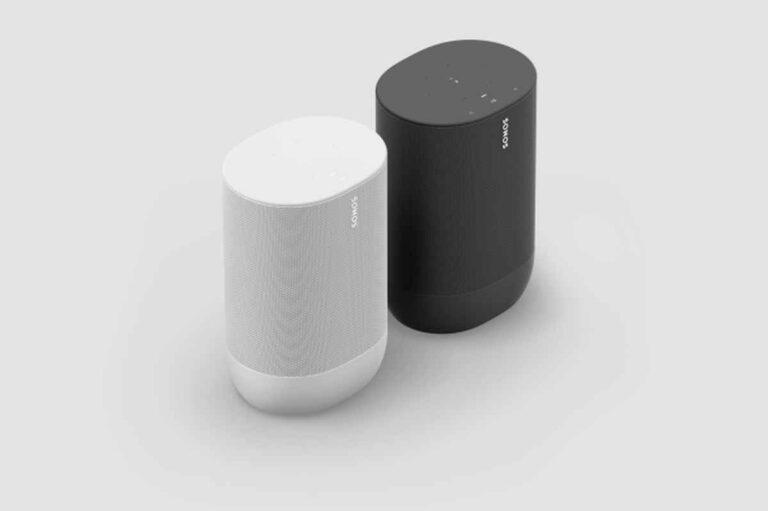 Sonos Move: mejor batería y en blanco