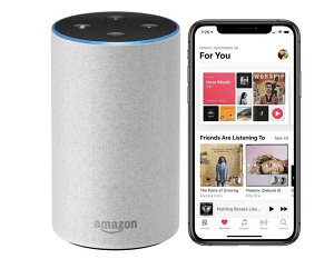 Configurar Apple Music en un dispositivo Amazon Echo