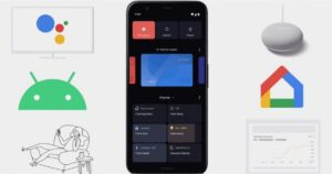 Android 11 Google Home Power Menu