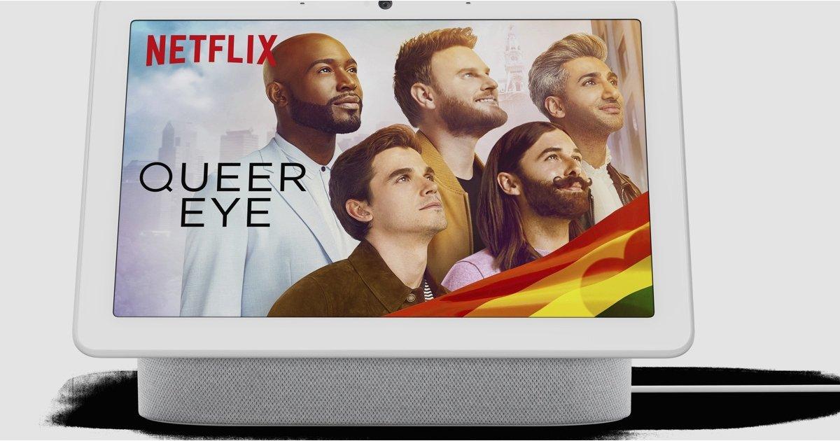 Google Nest Hubs para ver Netflix